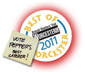 best of worcester magazine 2011 vote for peppers catering