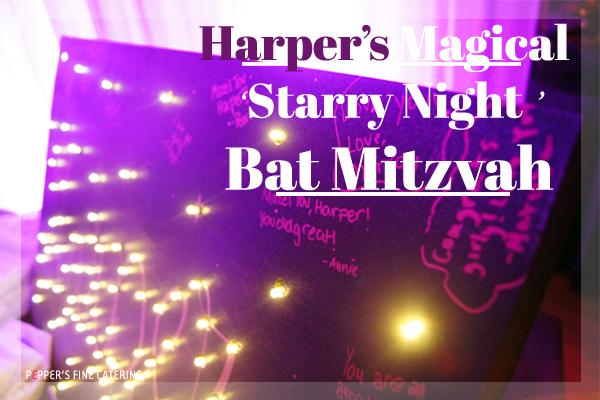 Starry Night Bat Mitzvah