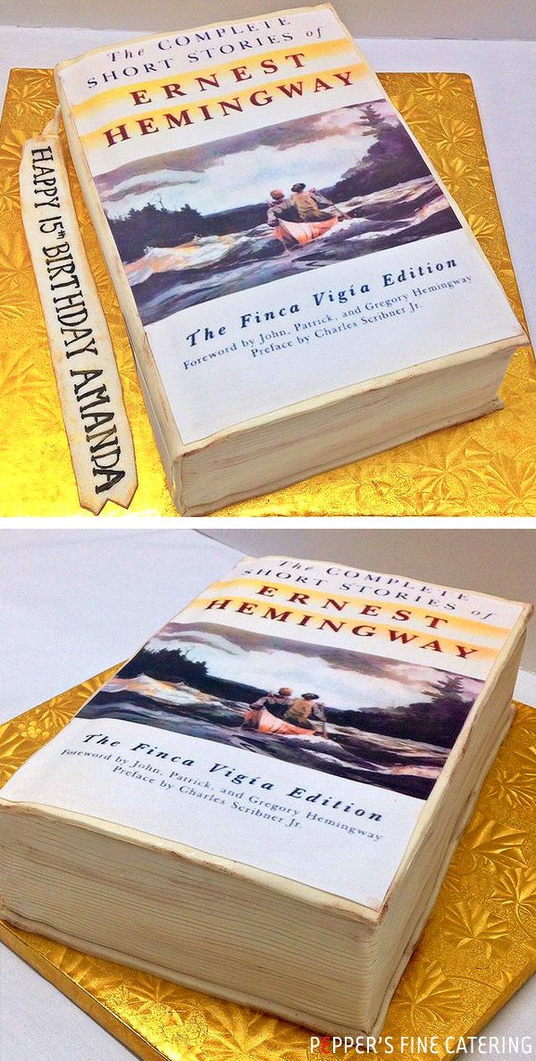 Hemingway Cake Replica
