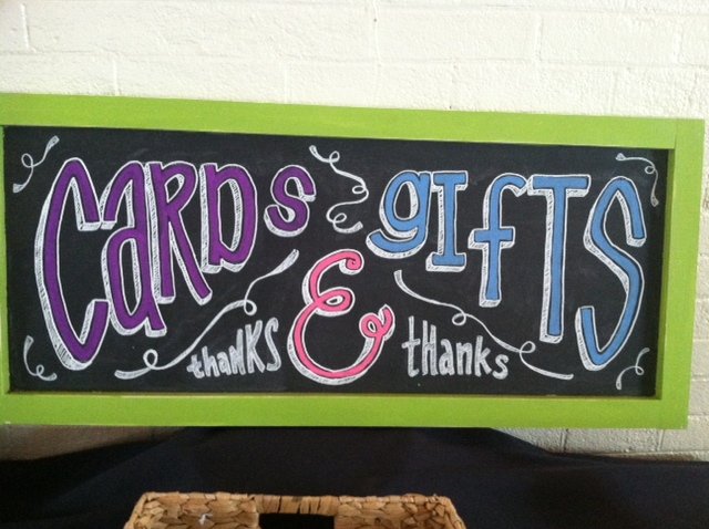 Card Gifts Sign