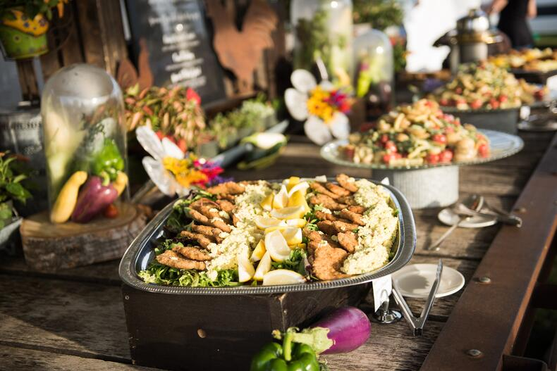 farm to table catering local peppers