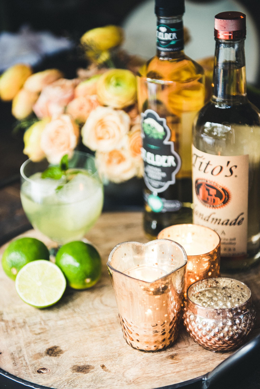 Elderflower cocktail recipe