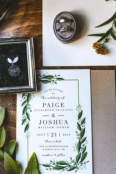 Wedding Invites Aldworth Manor