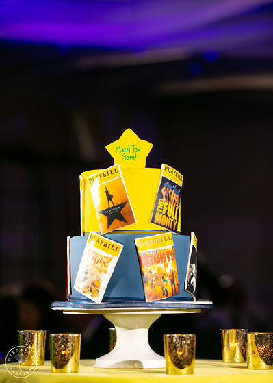 Theatre Bar Mitzvah Cake