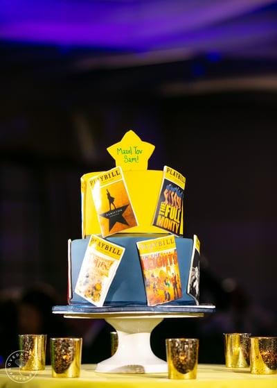 Theatre Bar Mitzvah Cake