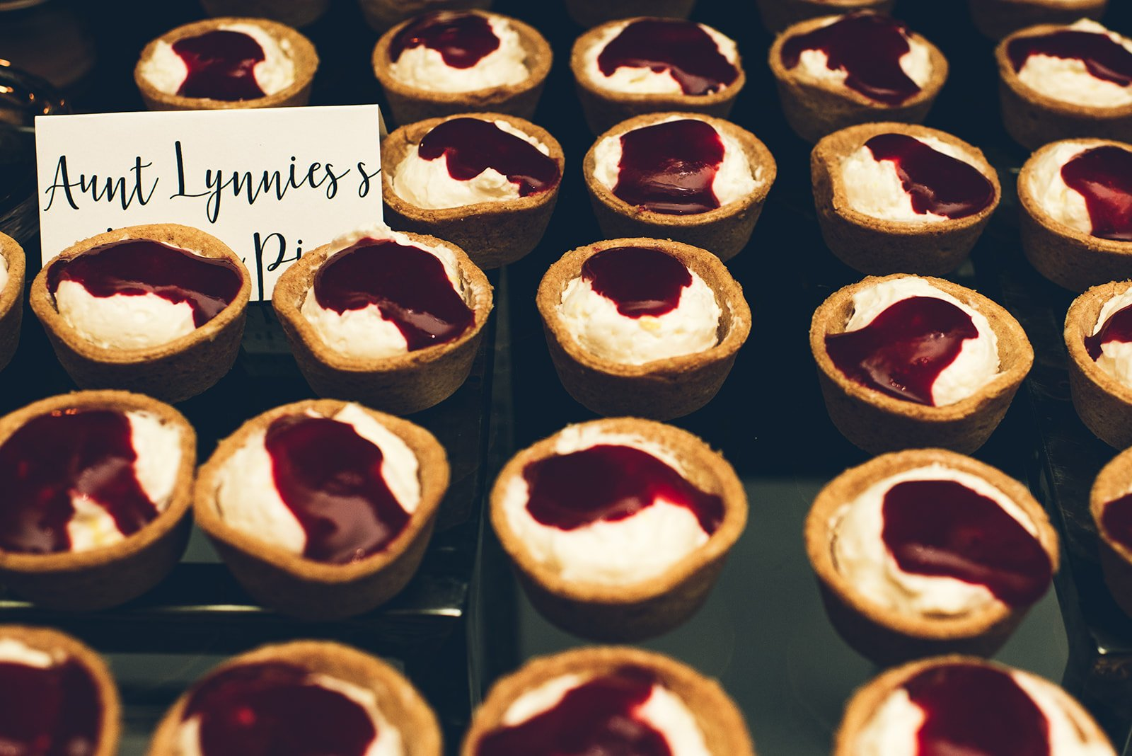 Aldworth Manor Catering Peppers Artful Events Dessert Mini Pies
