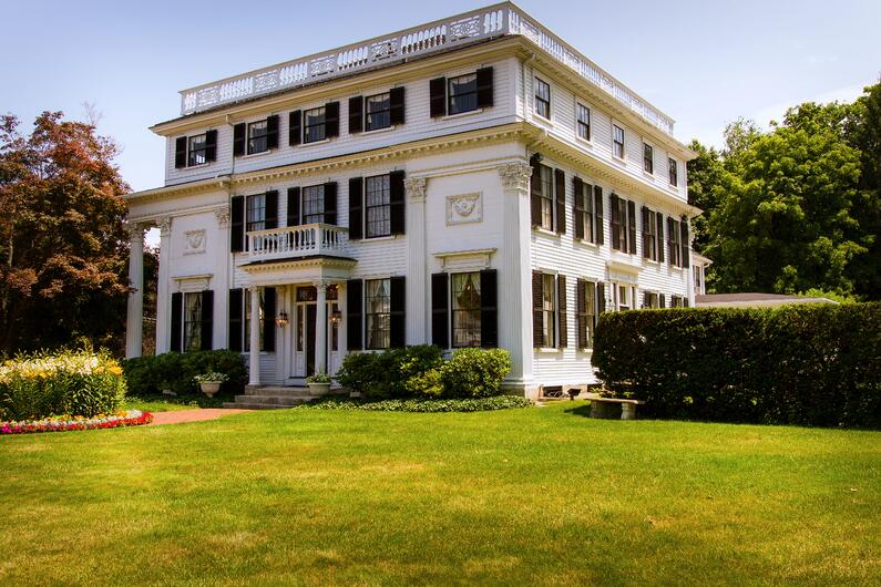 Asa Waters Mansion Millbury
