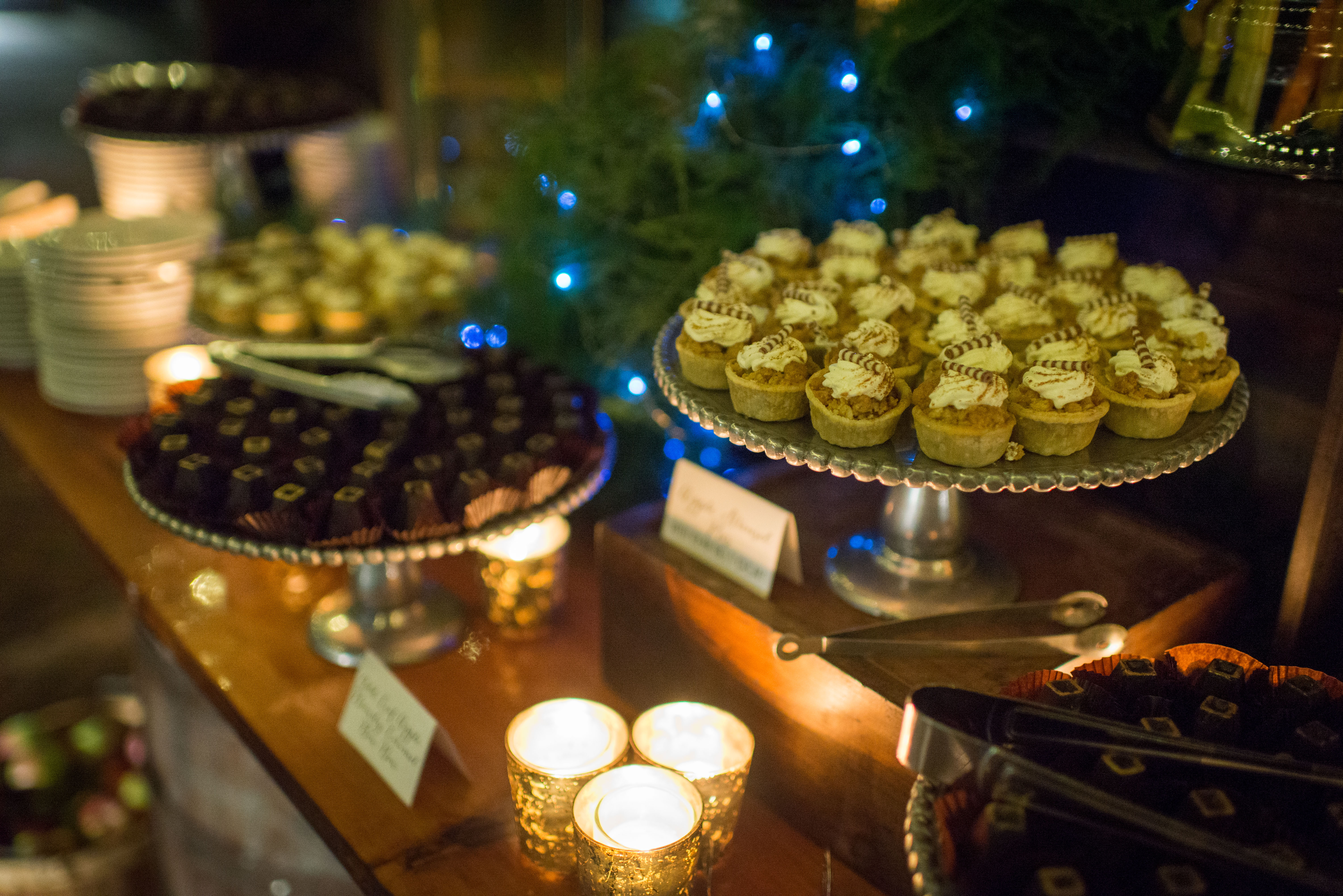 corporate event catering desserts