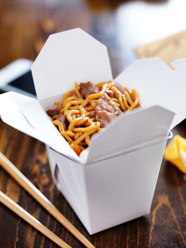 Chinese Food Takeout Container
