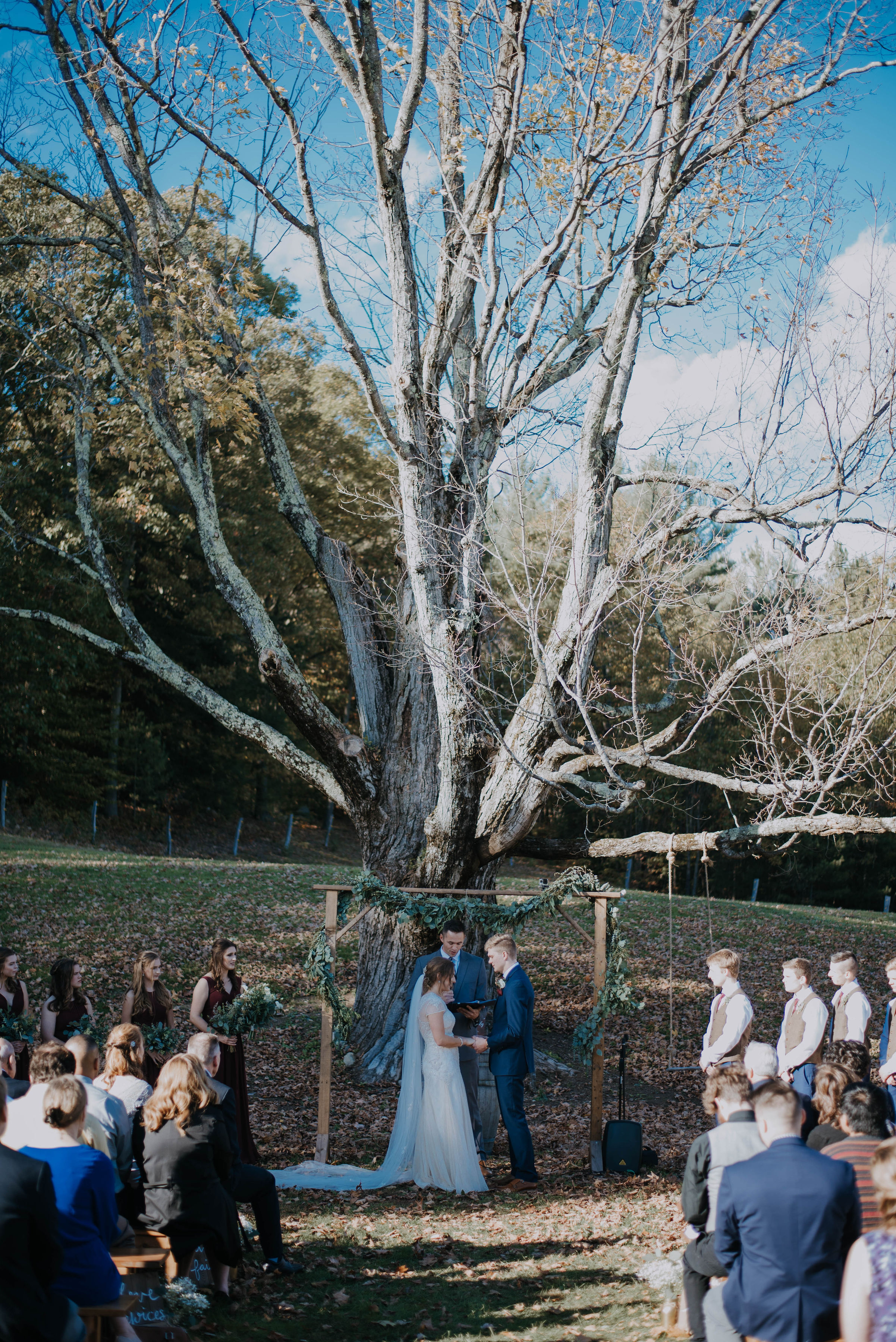 Allrose Farm Tree Ceremony