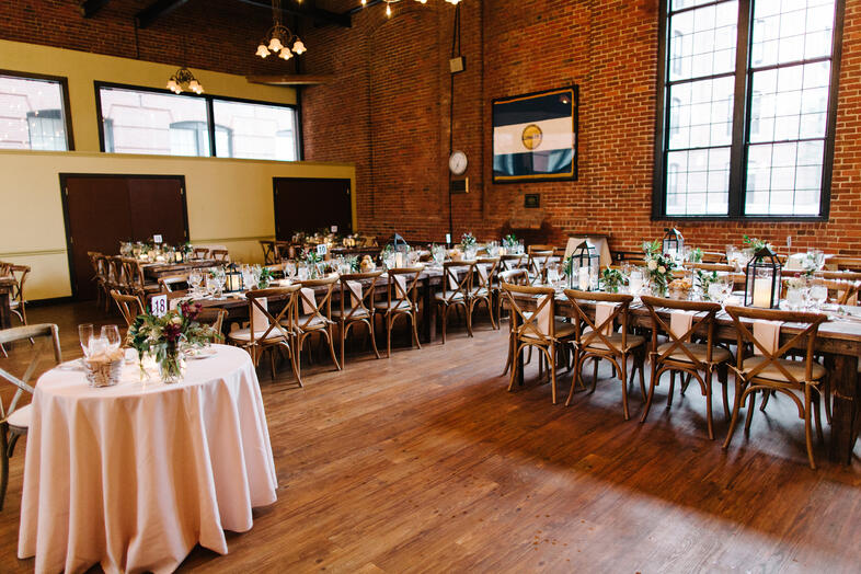 wedding rustic charles river museum