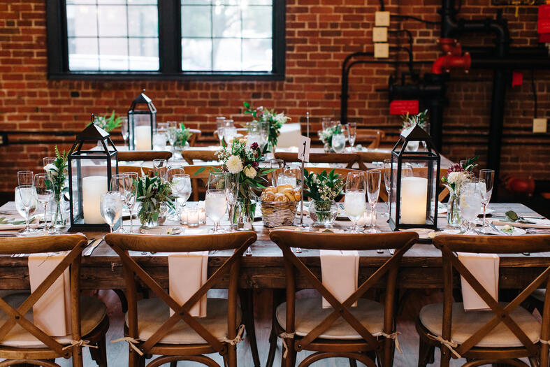 rustic weddings charles river museum of industry
