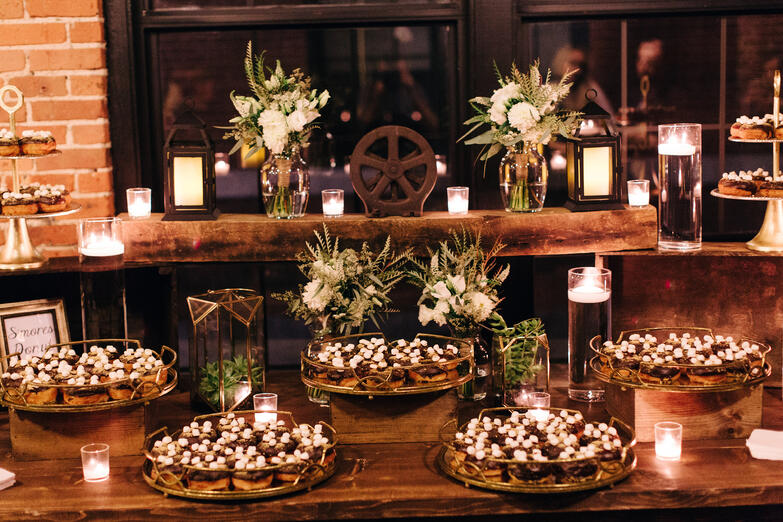 wedding catering charles river museum of industry