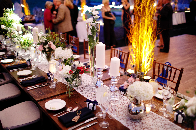 wedding rustic tables