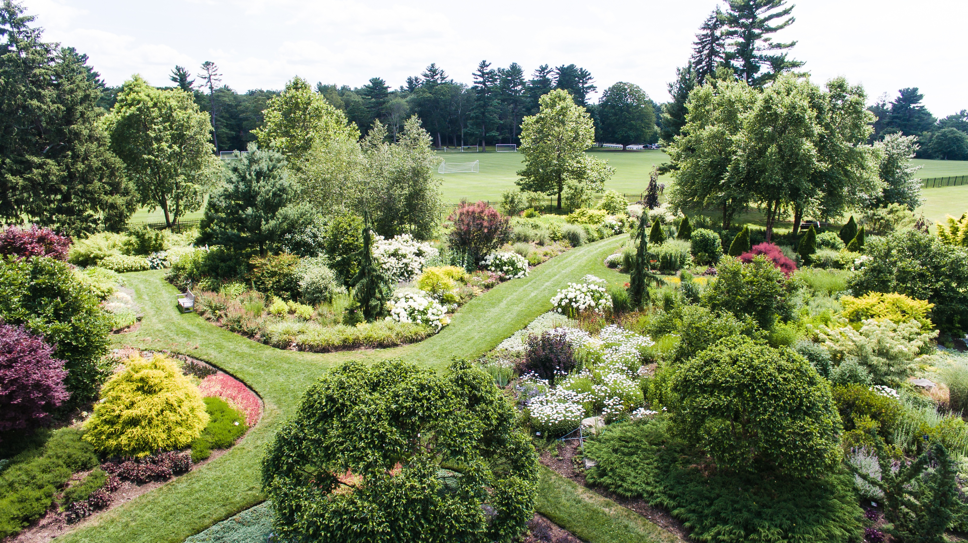 The gardens at elm bank