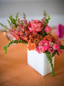 wedding brunch flowers