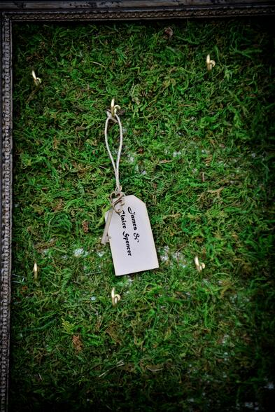 Pantone-color-of-the-year-moss-placecards-wedding