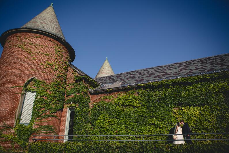 deCordova Sculpture park wedding