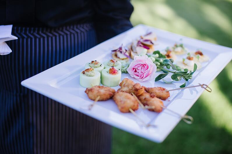 wedding catering tower hill