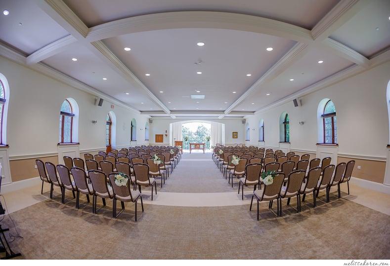 connors center wedding ceremony