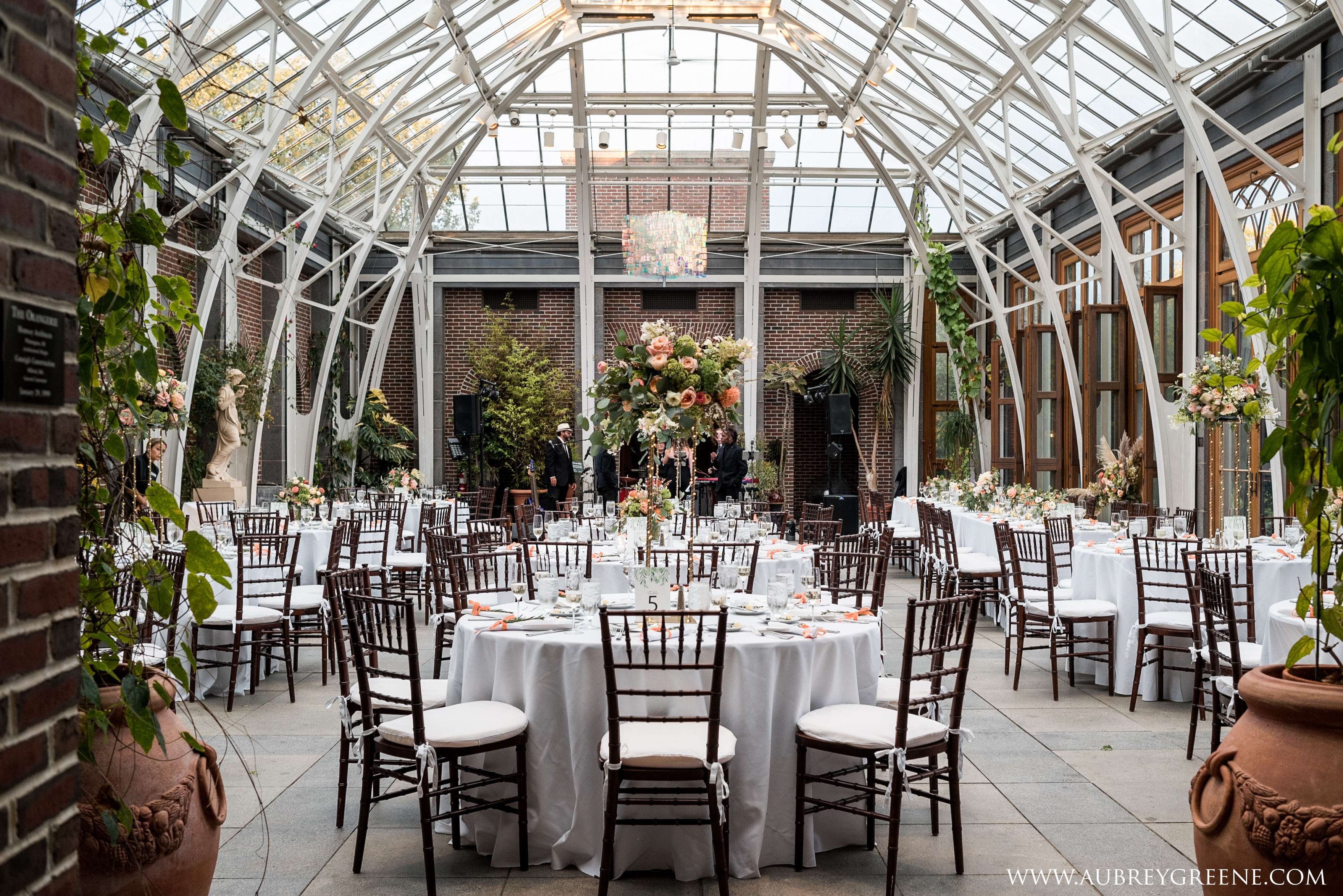 Wedding Reception Tower Hill Botanic Garden