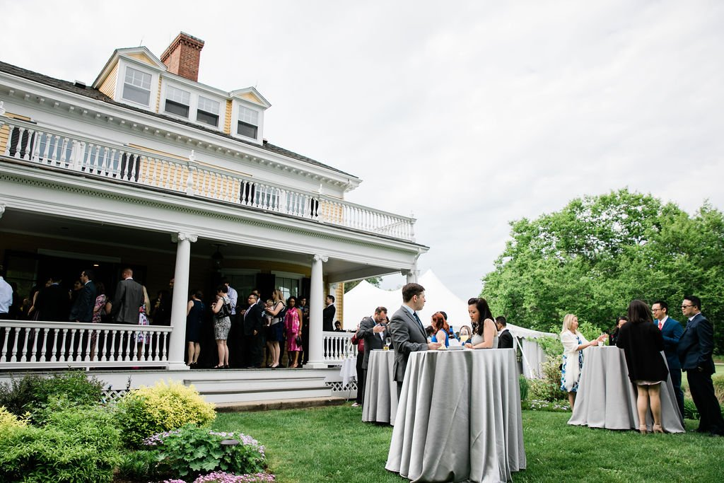 The Pierce House Outdoor Deck and Lawn Event Space