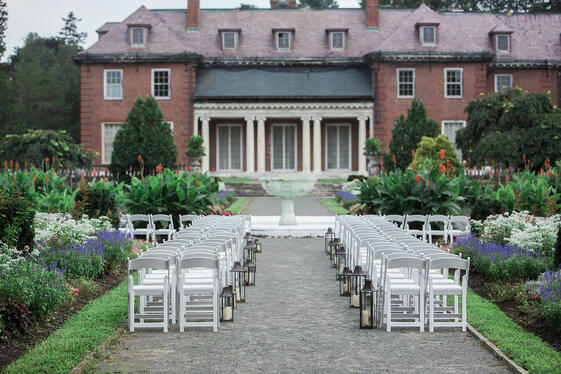 The Gardens at Elm Bank Weddings and Events