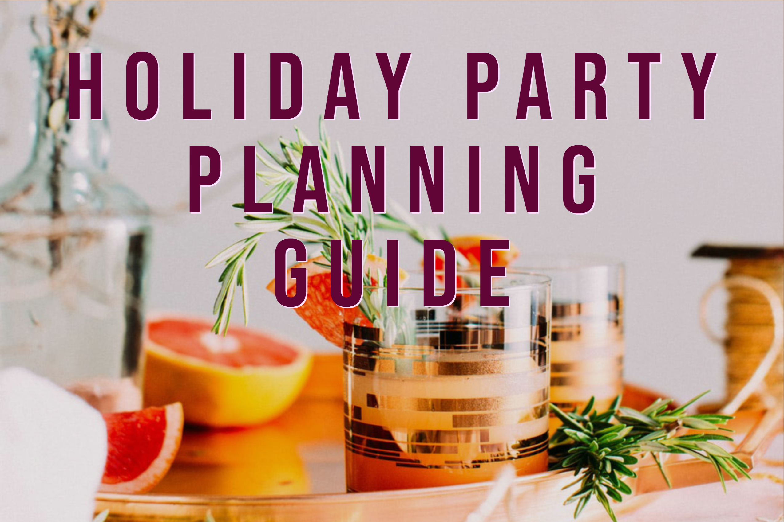 Newsletter holiday planning guide image