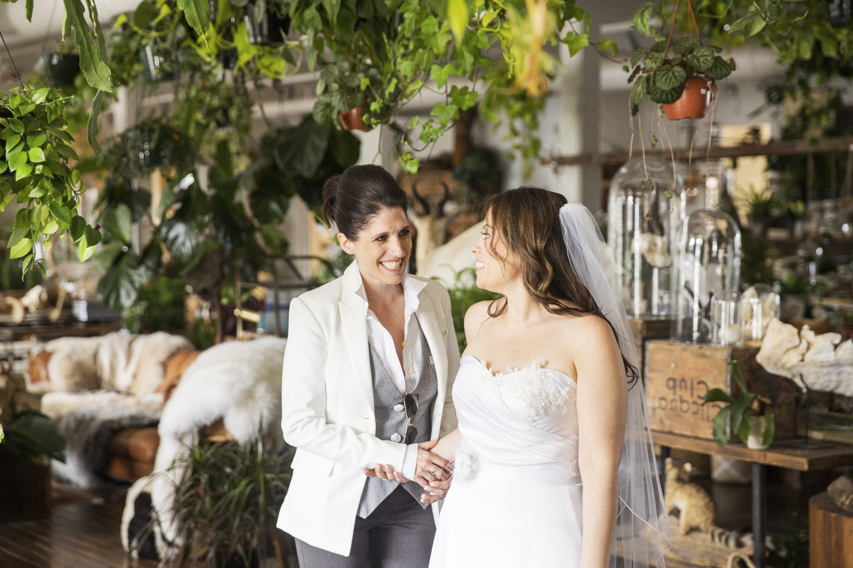 Wedding White Room Crompton Collective
