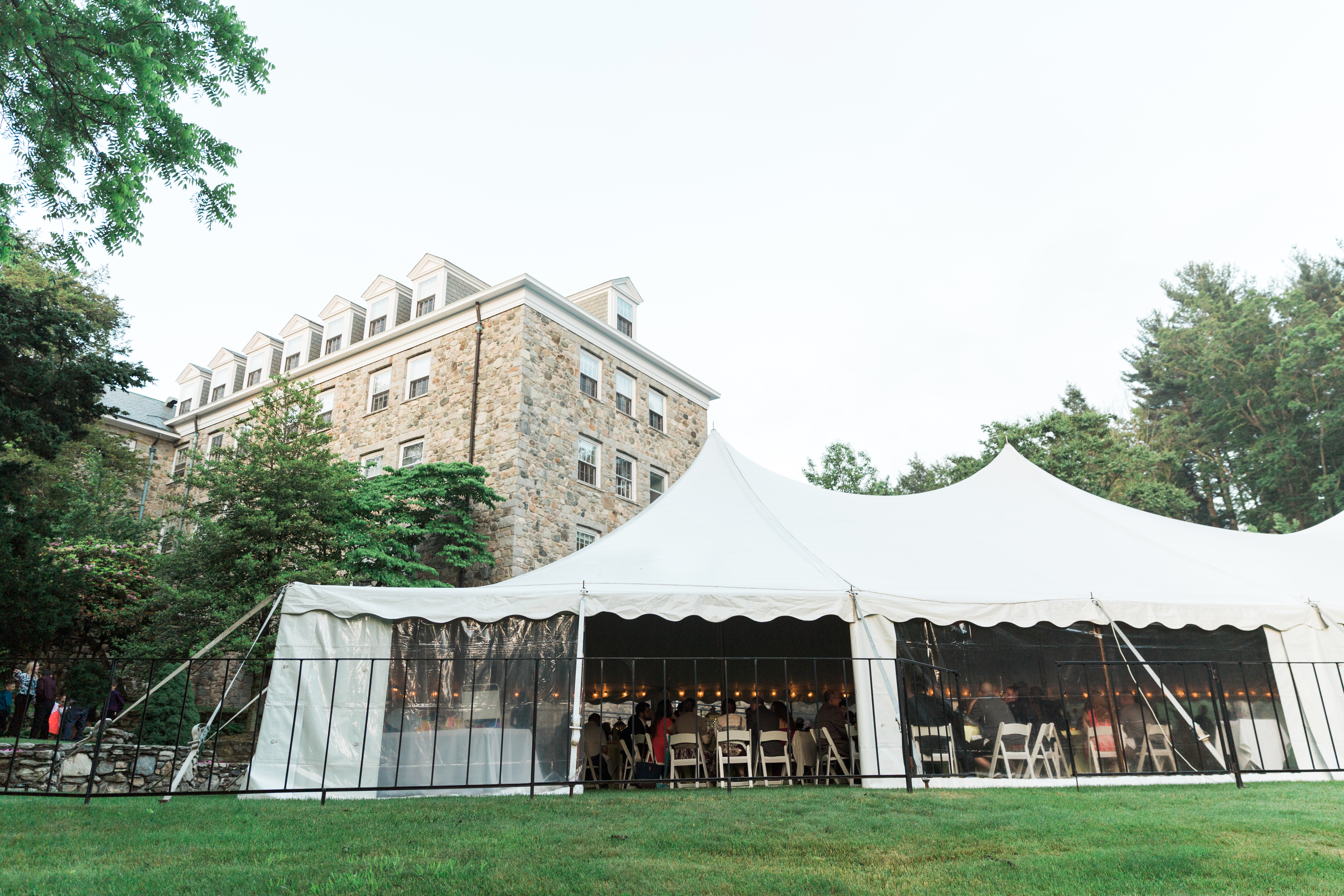 Connors Center Corporate Event Venue Tent