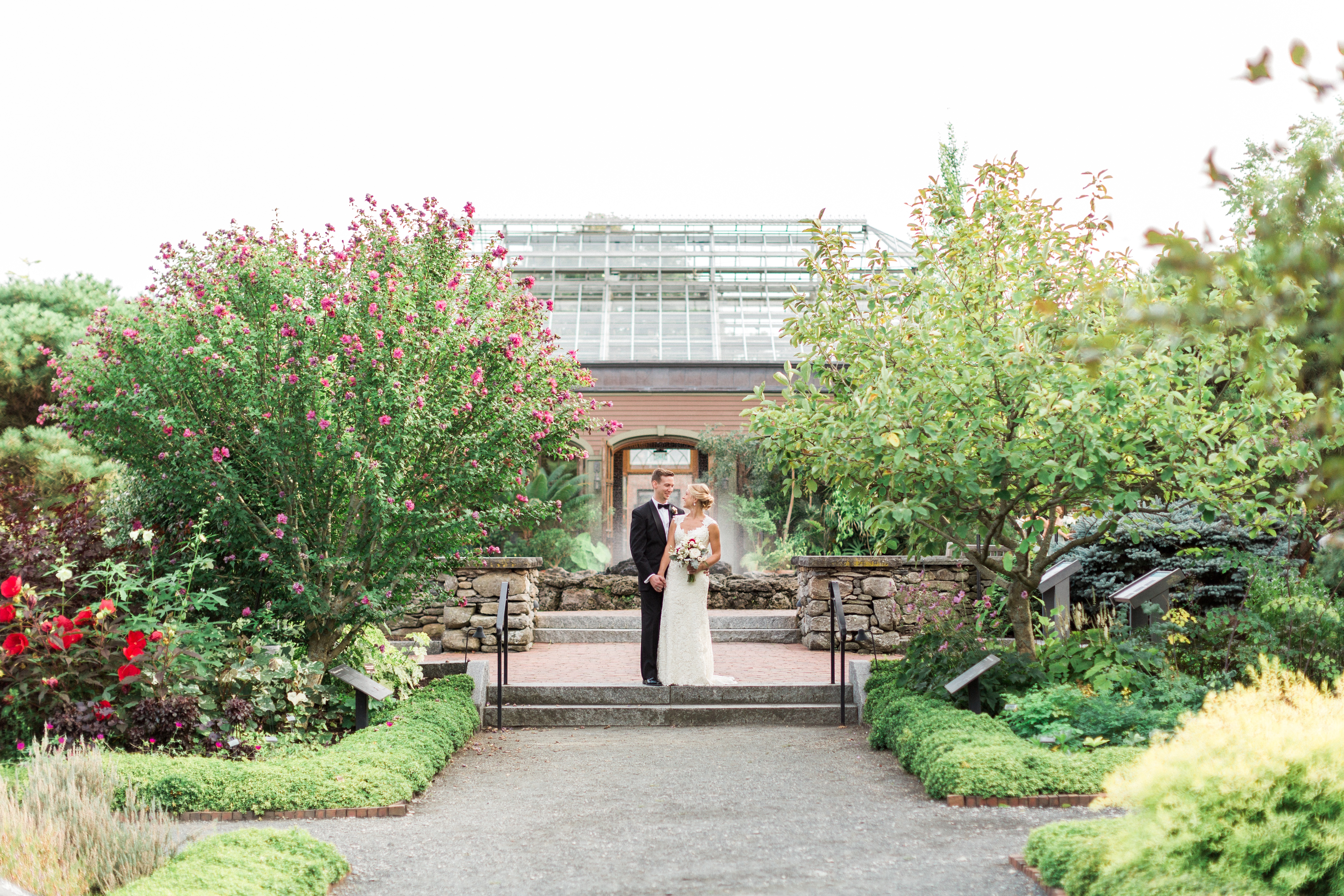 Tower Hill Botanic Garden Wedding