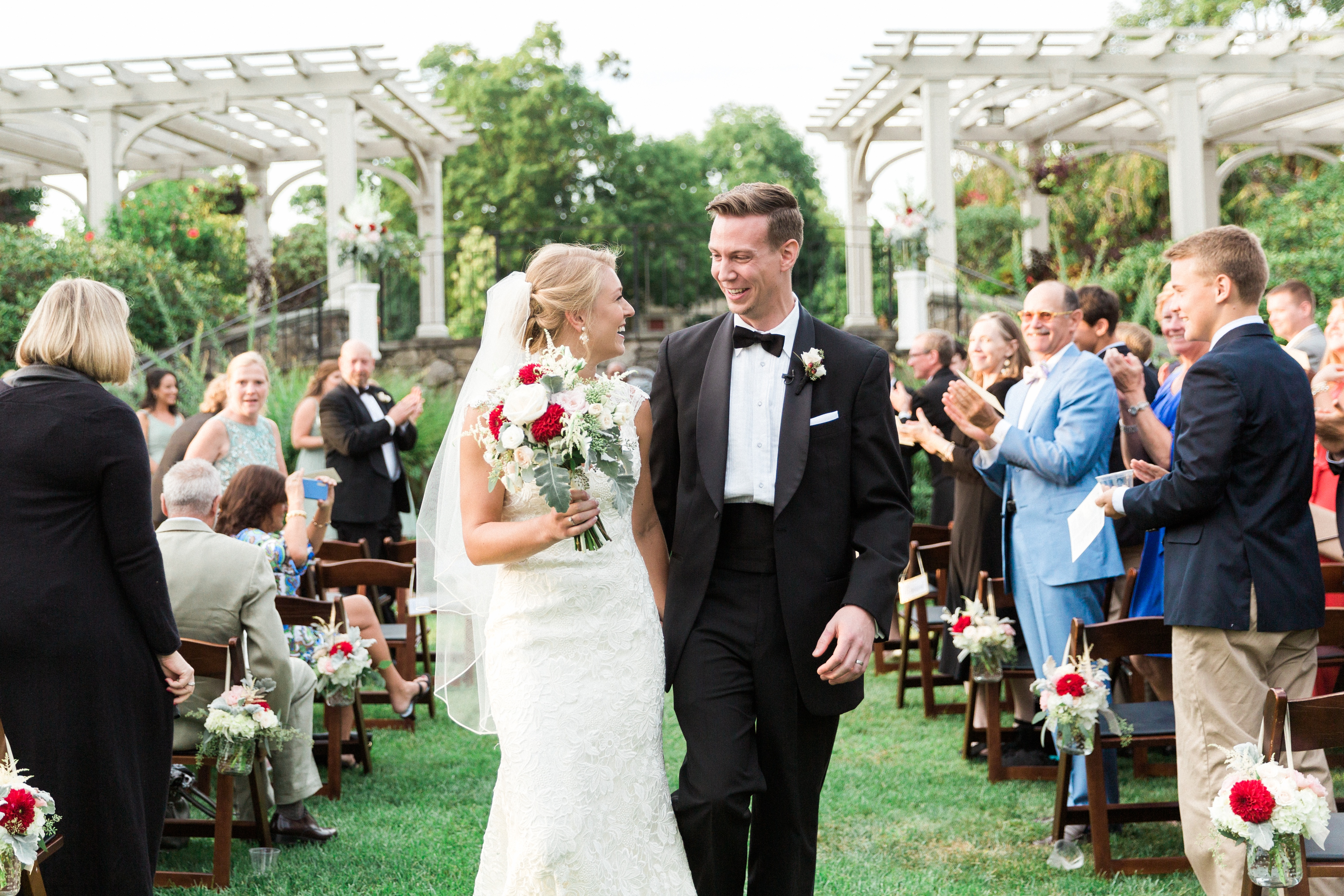 Weddings at Tower Hill Botanic Garden