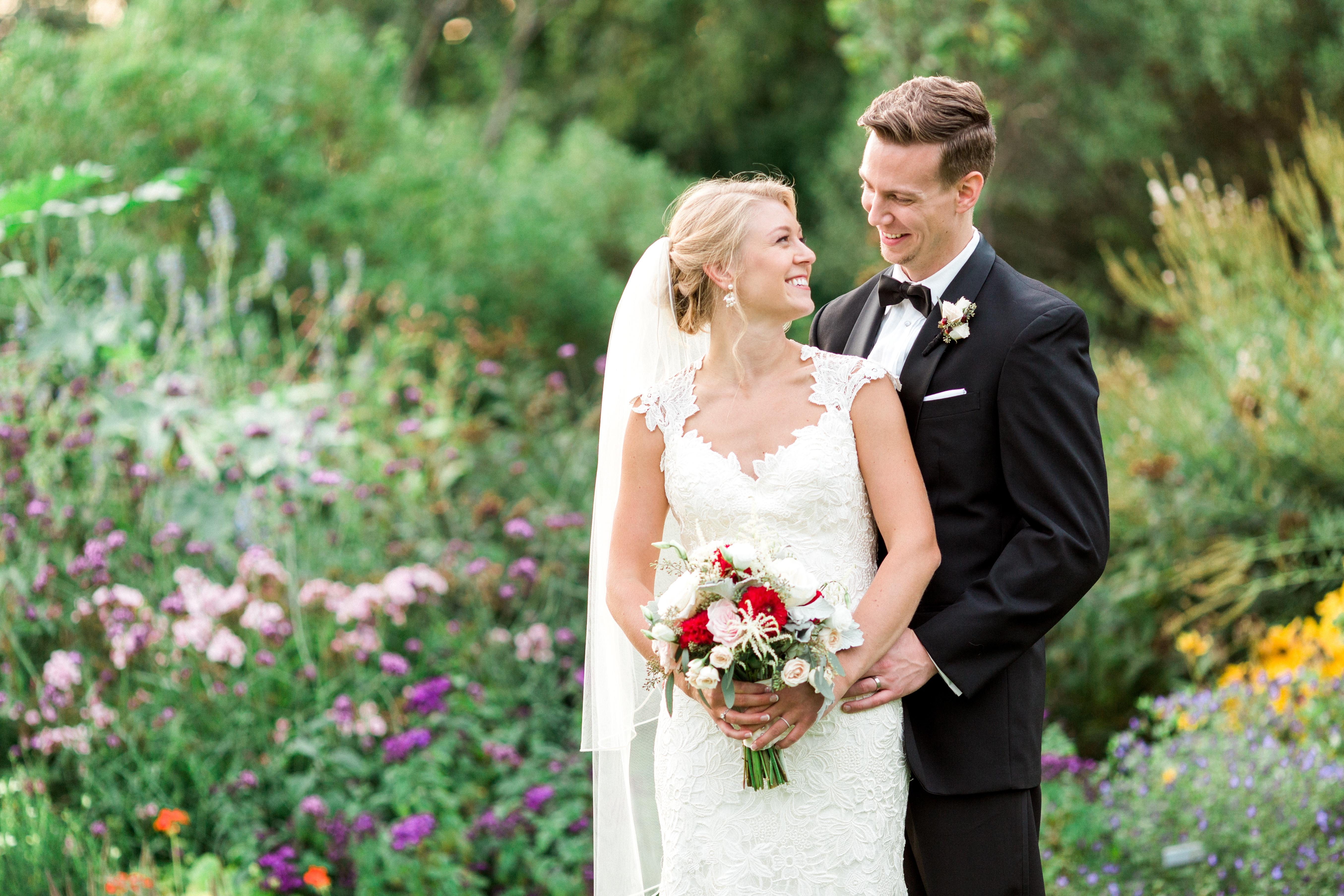wedding tower hill botanic garden