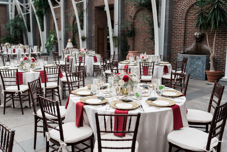 Tower Hill Botanic Garden wedding catering