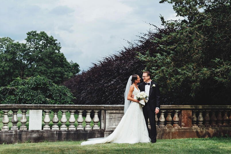 Gardens at Elm Bank Wedding