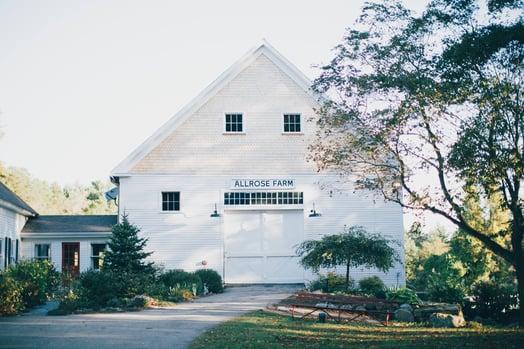 Top Barn Wedding Venue NH, Farm