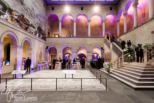 Worcester art museum weddings and events