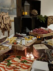 holiday party catering themes