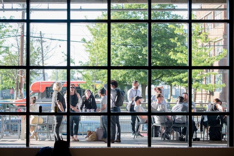 Drydock Hall Promenade Boston Innovation & Design Center