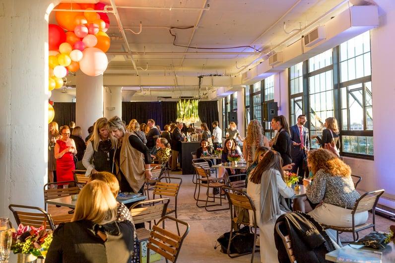 Boston Innovation & Design Center Event Space Seaport District Reception