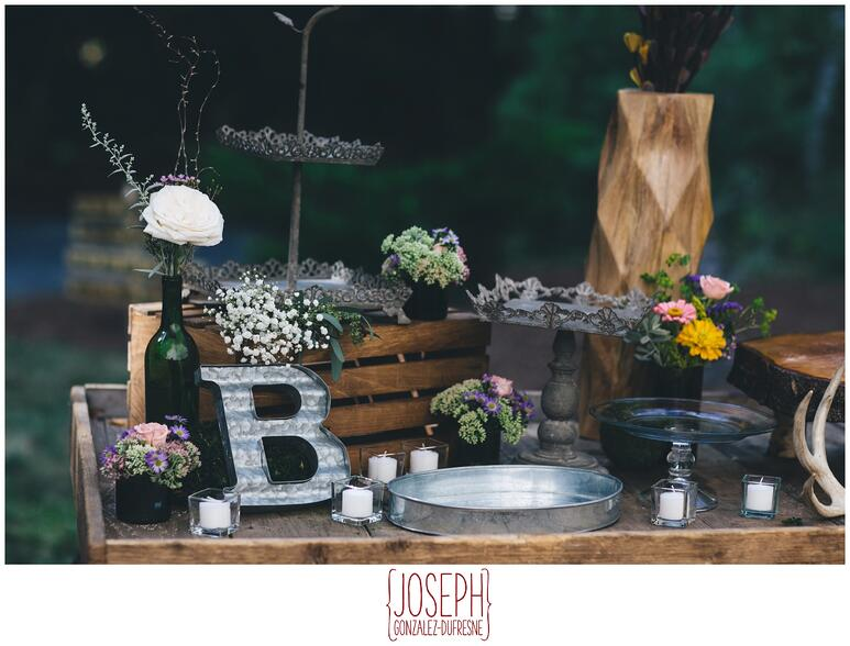 upscale bbq wedding
