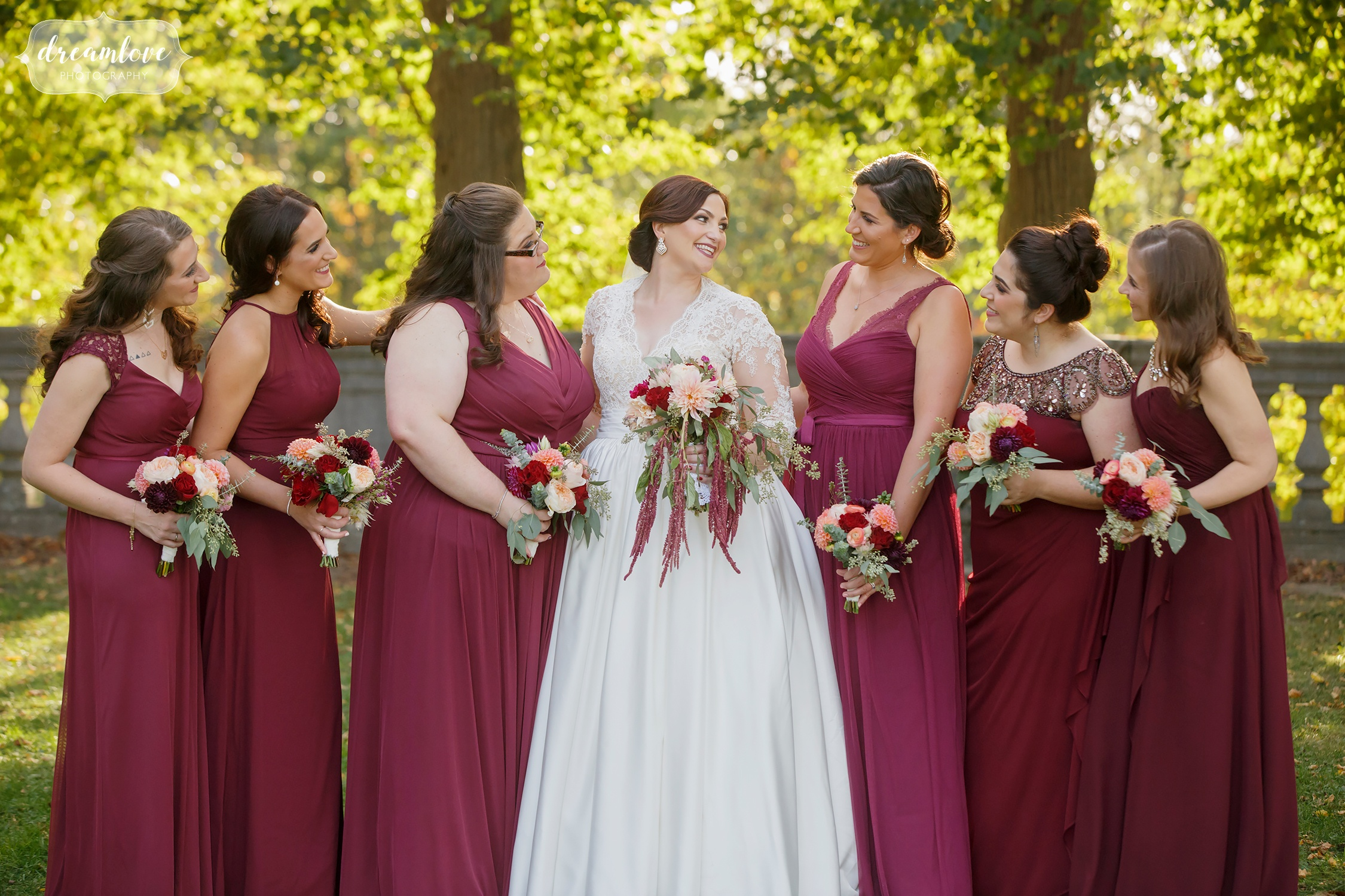 Fall New England Weddings