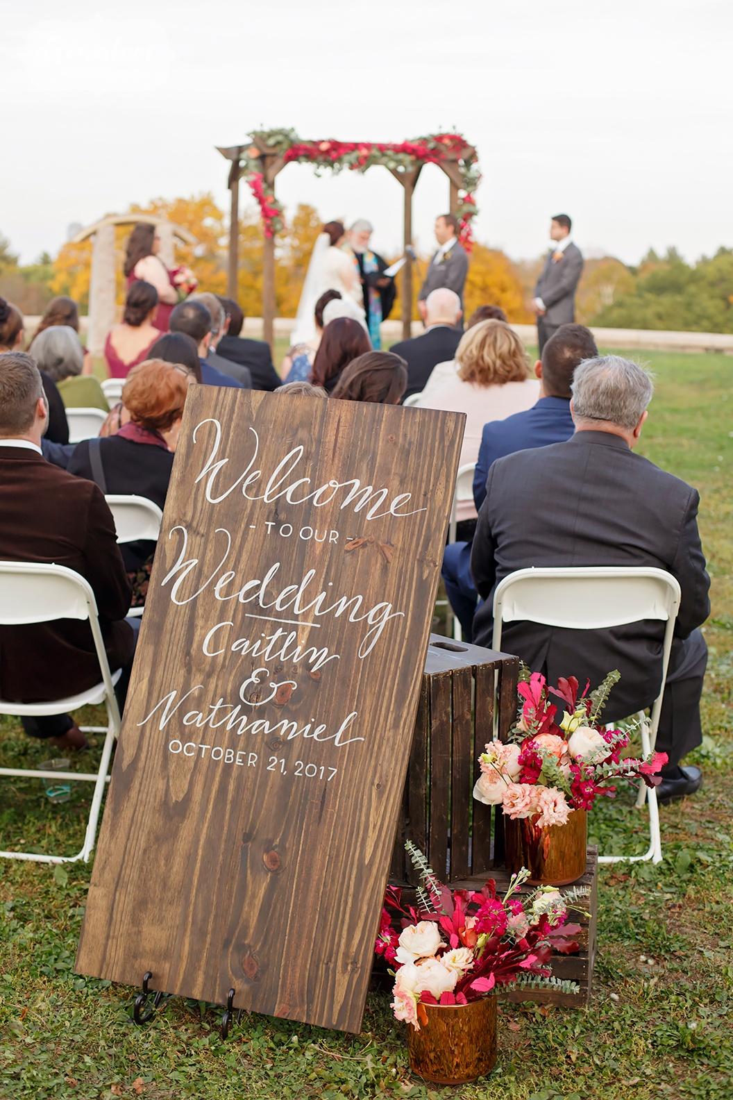 fall weddings new england