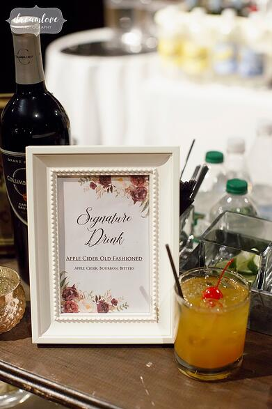 signature cocktails events