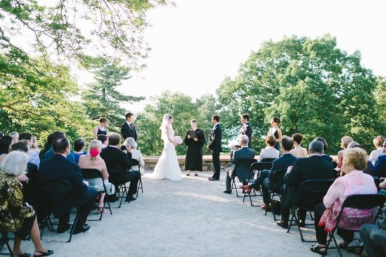 wedding ceremonies deCordova Sculpture Park and Museum