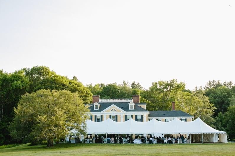 Pierce House Tent Wedding Massachusetts.jpg