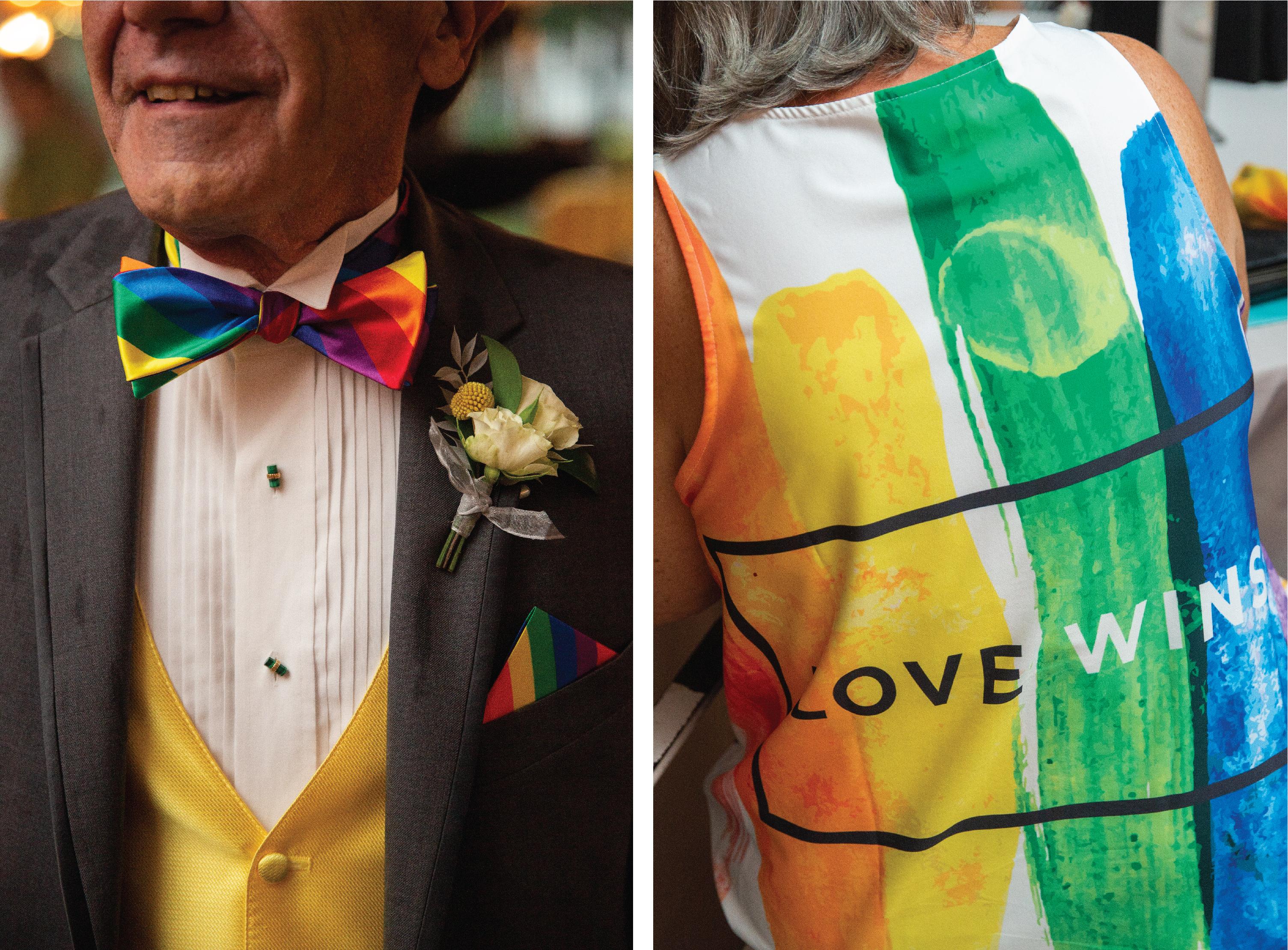 Colonel tie western bow tie square dance gray clip-on NEW Kentucky wedding DJ