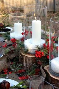 rustic christmas theme