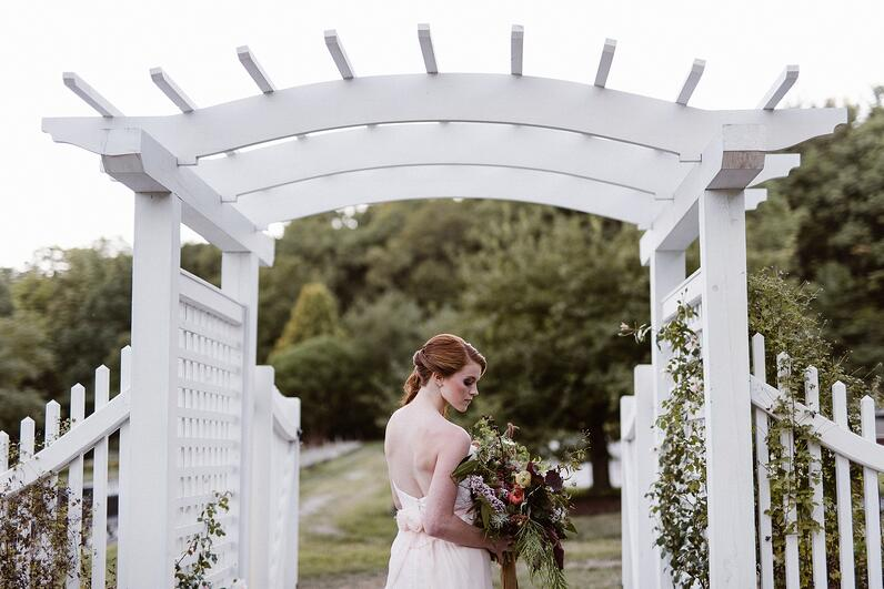 garden wedding new hampshire