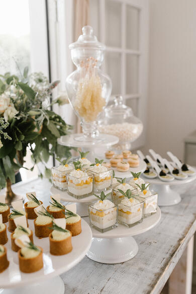 peppers artful events desserts